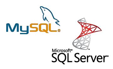 Microsoft SQL-Server, MySQL-Datenbanken